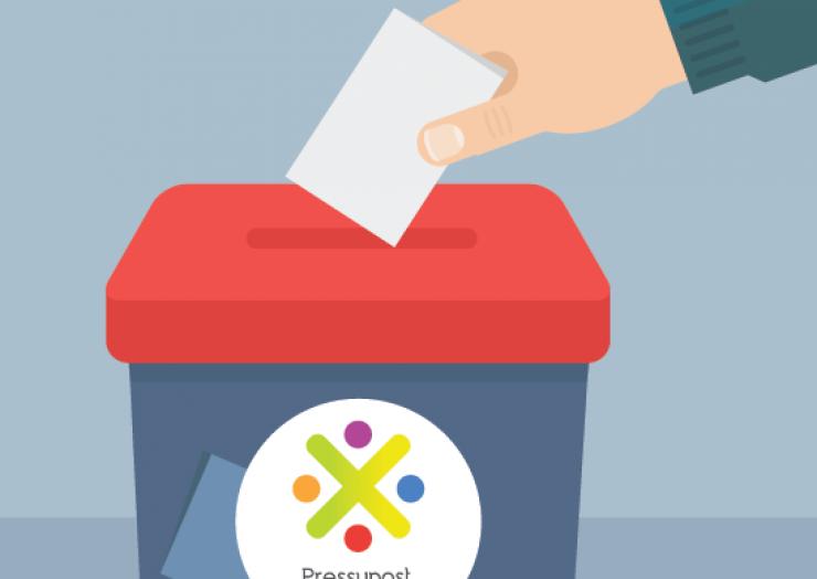 Votació Pressupost Participatiu 2017