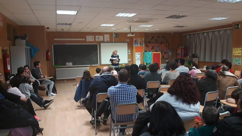Presentación Campaña Juguetes no Sexistas en el CEIP Clara Campoamor
