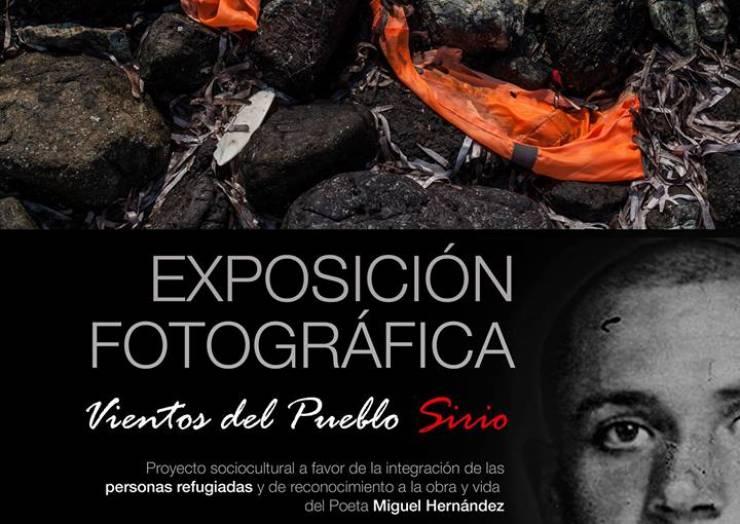 Exposición Fotográfica Vientos del Pueblo Sirio