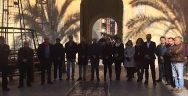 Concentración en la plaça de Baix por otra víctima de violencia de género