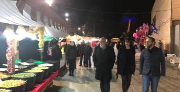 Inauguració del mercat de Nadal