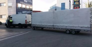 Delincuencia vial detecta varias anomalías en el transporte de personas y mercancías