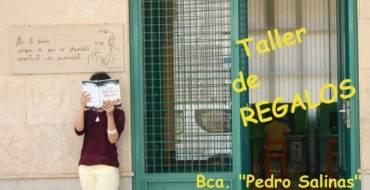 Taller de Regalos en la Biblioteca Pedro Salinas