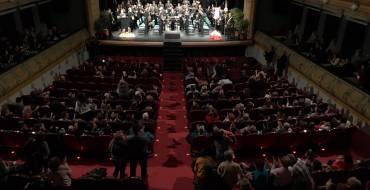 El vicari episcopal pronuncia en el Gran Teatre un emotiu pregó carregat de nostàlgia i de records