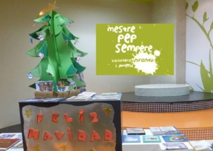 Taller de Nadal en la biblioteca Pep Sempere