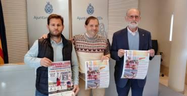 El Ayuntamiento presenta la competición de invierno de Voley Playa de la Comunidad Valenciana