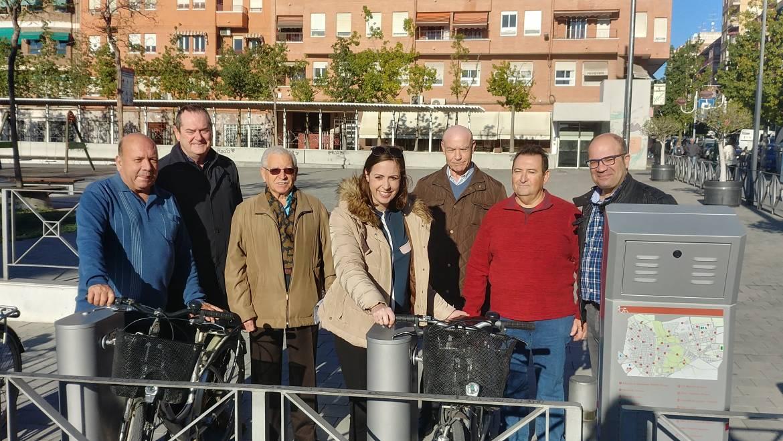 Nueva estación de BiciElx en la plaza Francesc Cantó