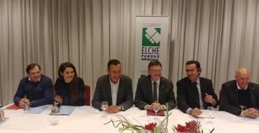 Ximo Puig confia que a principis de 2019 comence a licitar-se l'ampliació d'Elx Parc Empresarial