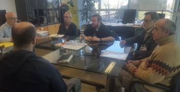 Medio Rural y los regantes de Carrizales se reúne con la secretaria autonómica de Medio Ambiente para impulsar el Parque Agroalimentario