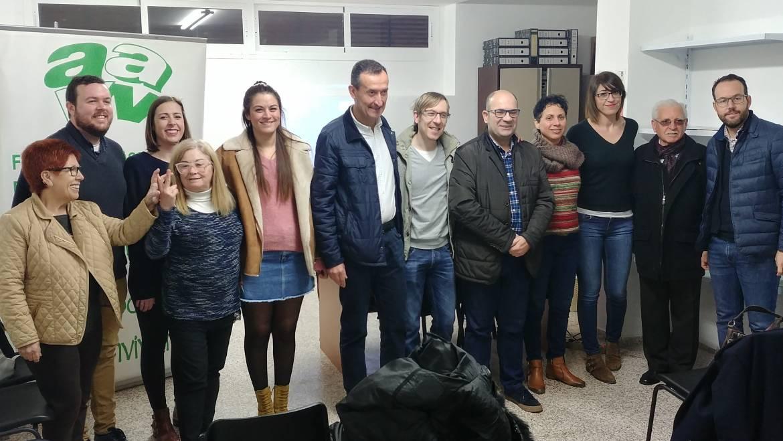 """L'Ajuntament inaugura la nova seu de la Federació d'Associacions de Veïns """"Dama d'Elx"""""""