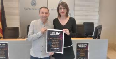 El Ayuntamiento presenta la tercera edición del Elche Live Music Festival, que tiene como cabeza de cartel a Love Of Lesbian