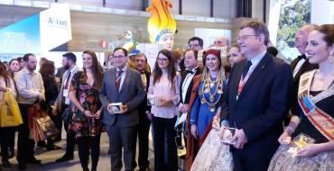 Elche se promociona como destino turístico patrimonial en el Día de la Comunitat Valenciana en FITUR