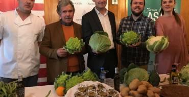 El equipo de gobierno presenta la campaña de hortalizas de invierno.