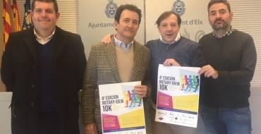 Presentación de la 4ª edición de la 10K Rotary-Idem