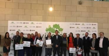 El equipo de gobierno participa en la entrega de premios de Viveralia