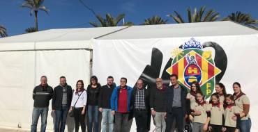 Masiva participación  de público en la romeria de San Antón