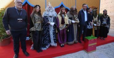 Recepció als Reis Mags en el Palau d'Altamira