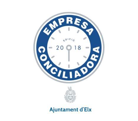 Convocatoria  sello distintivo «Empresa Conciliadora» Ajuntament d'Elx-2018