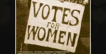 Cuando las Mujeres no podían Votar. Gran Teatro