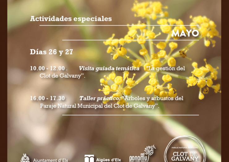 Día Europeo de los Parques en el Clot de Galvany