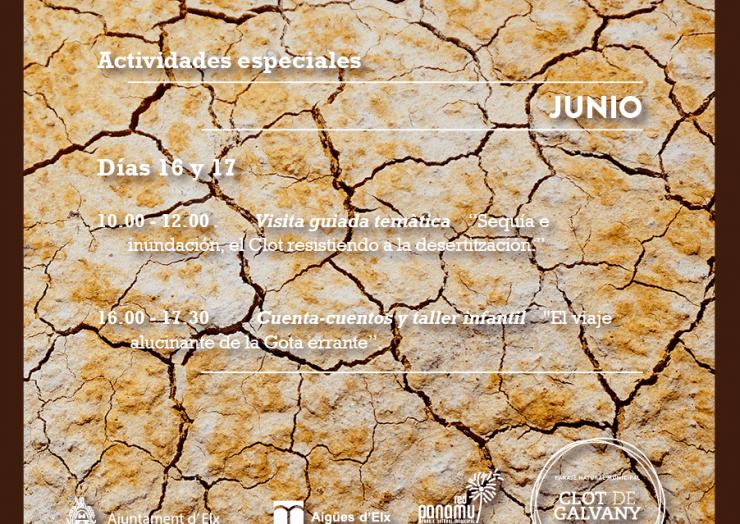 Díi Mundial de Lluita contra la Desertització en el Clot de Galvany