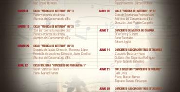 La música clásica inunda Las Clarisas