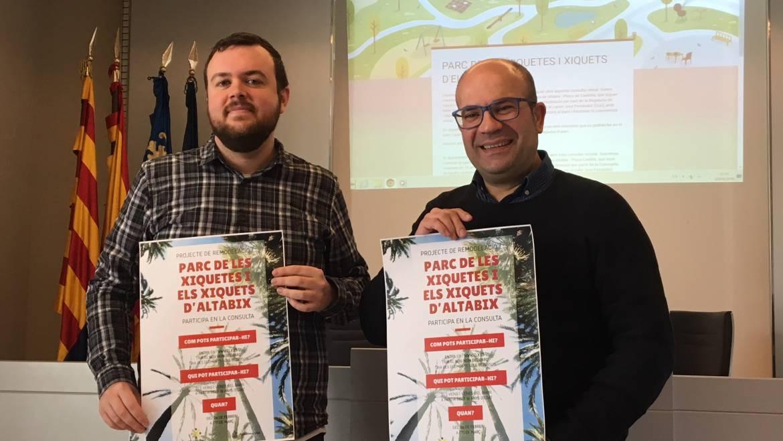 L'Ajuntament consulta als veïns el futur per a l'Hort de les Xiquetes i els Xiquets d'Altabix