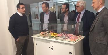 El alcalde apoya a los expositores ilicitanos de Lineapelle en Milán