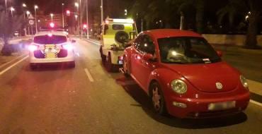 Conductora sin permiso obliga a inmovilizar dos vehículos en el mismo día
