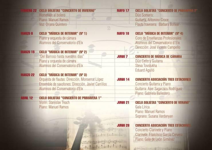 Ciclo de música clásica