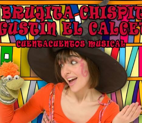 La Brujita Chispita y Agustín el Calcetín