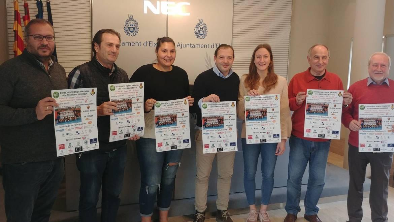 Deportes presenta el partido de balonmano femenino Elche Mustang – Castellón