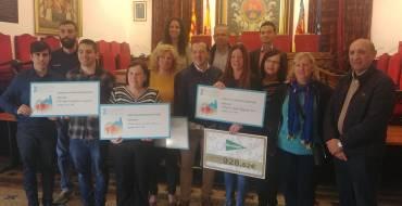 Deportes entrega a cinco entidades el dinero recaudado en la San Silvestre