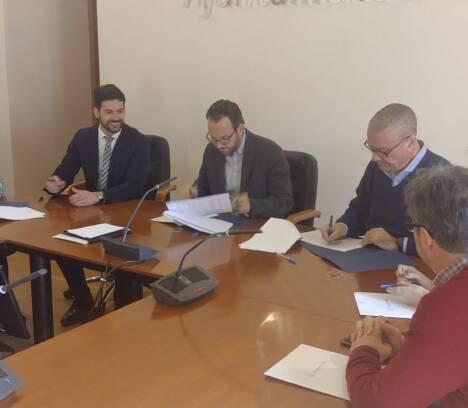 El Ayuntamiento renueva su convenio con Jovempa para la promoción y el desarrollo del emprendimiento en la ciudad