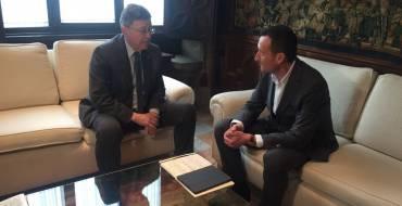 L'alcalde d'Elx demana al president de la Generalitat recolze davant Foment als grans projectes d'infraestructures en el municipi