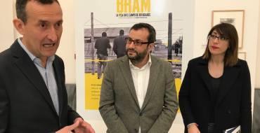 Inauguración de la exposición «Españoles en Bram. La vida en el campo de refugiados»