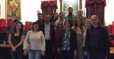Recepción a estudiantes y profesores de Erasmus