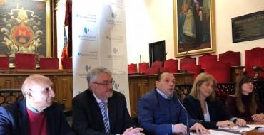 Signatura del conveni amb l'Hospital Quirón Salud
