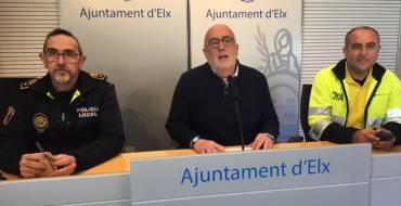 Más de 300 efectivos velarán por la seguridad durante la Semana Santa