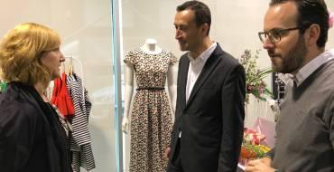 El alcalde y el edil de Promoción Económica inauguran la primera cita de Elx Tendències