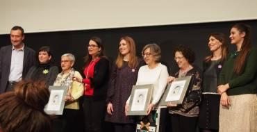 Elisa Sanchis, María Elena Simón y Margarita Ramón-Borja, ganadoras de los Premios Isabel Ferrer 2018
