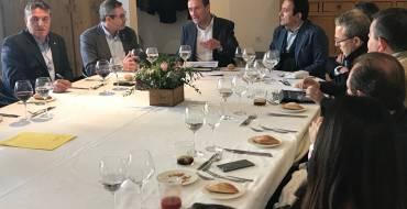 El alcalde participa en un encuentro con el Rotary Club Elche Illice