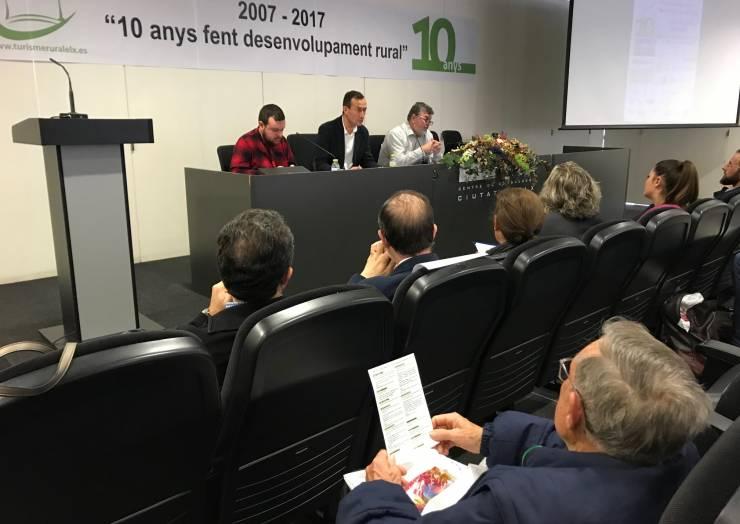 L'alcalde i el regidor de Medi Rural participen en la inauguració de les jornades del X aniversari d'ADR