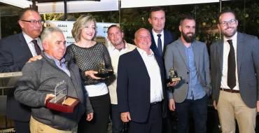 Entrega de los premios de la Asociación de Empresas de Servicios de Elche y Comarca