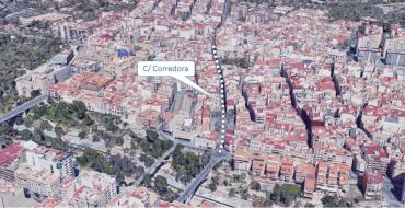 Publicat en la web de Mobilitat l'estudi de priorització pels vianants en el carrer Corredora