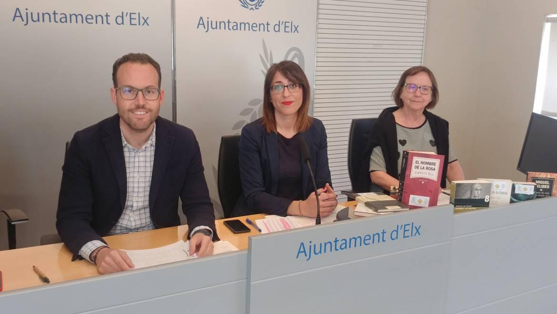 El Ayuntamiento presenta las actividades que se van a realizar con motivo del día de Sant Jordi