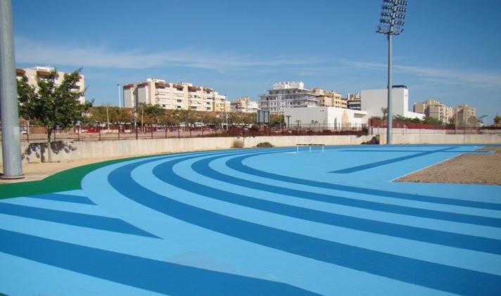 Tancament temporal de l'Estadi Municipal d'Atletisme Manolo Jaén