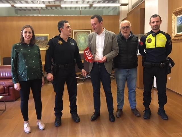 """Atresmedia otorga el premio """"Ponle freno"""" a la Policía Local de Elche por  su fomento del uso de la bicicleta"""