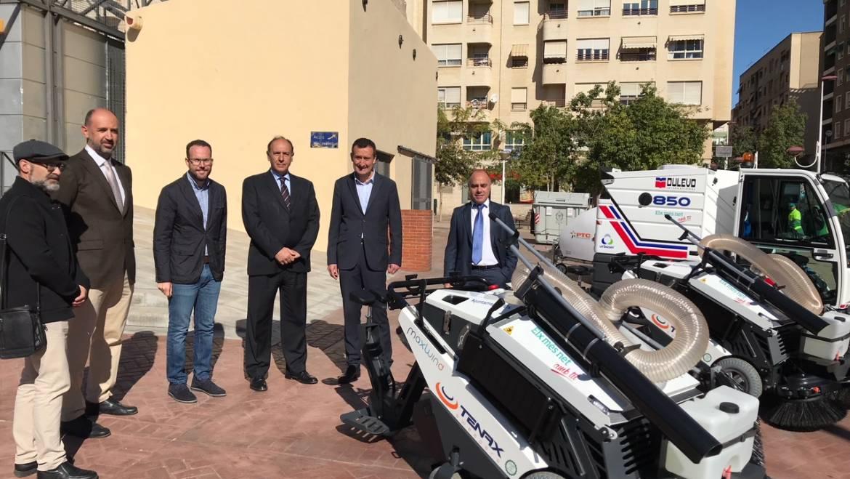 L'Ajuntament incorpora nou vehicles de neteja d'última generació per a millorar el servei