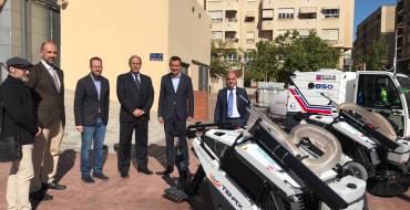 El Ayuntamiento incorpora nueve vehículos de limpieza de última generación para mejorar el servicio